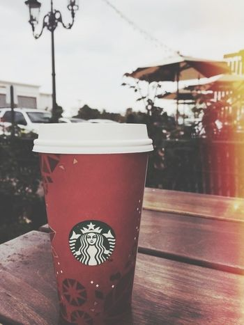 Starbucks Coffee Merry Christmas! Enjoying Life