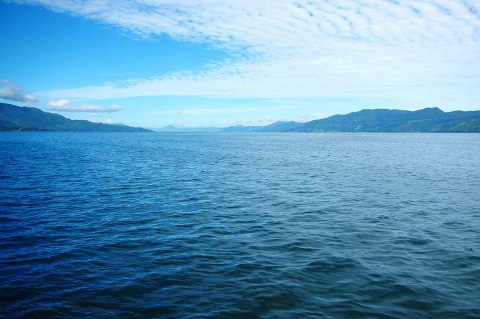 Danau Toba Lake, Indonesia Scenics Beauty In Nature Blue Rippled Water Outdoors Sky No People Nature Mountain Lake Xiomi3s Redmi Redmi3s Mobilephotography
