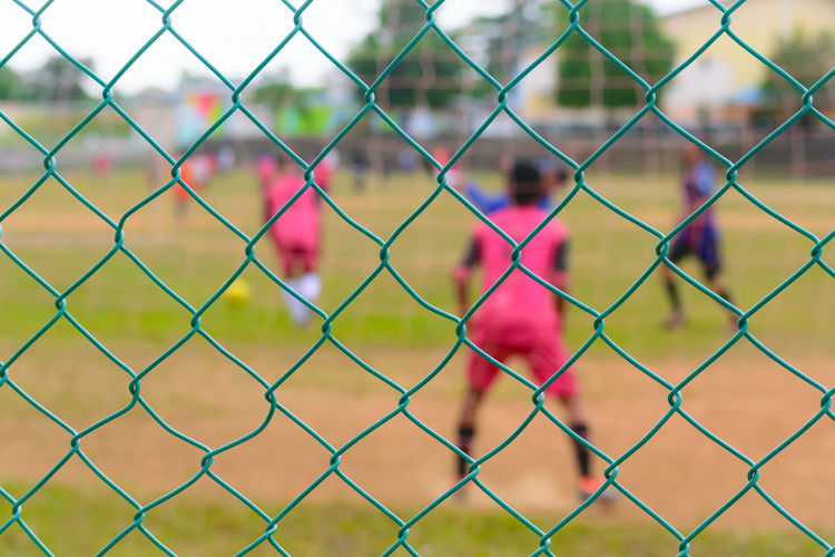 Copy Space Backgrounds Texture Day Colors Sport Baseball - Sport Playing Field Protection Safety Security Chainlink Fence Chainlink Track And Field Stadium Soccer Field Soccer Goal Goal Post Soccer Uniform Soccer Player Soccer Goalie Net - Sports Equipment Goal Soccer Ball Soccer Shoe Soccer Team