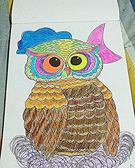 Drawing Draw Painting Paint Owl Owls💕 Owltattoo Owl Tattoo