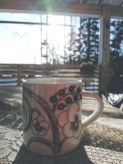 A Cup Of Tea Teatime Spring Is Coming Sunshine Happy Enjoying Urban Spring Fever
