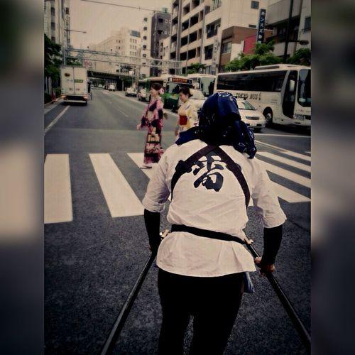 Japan Asakusa 人力車