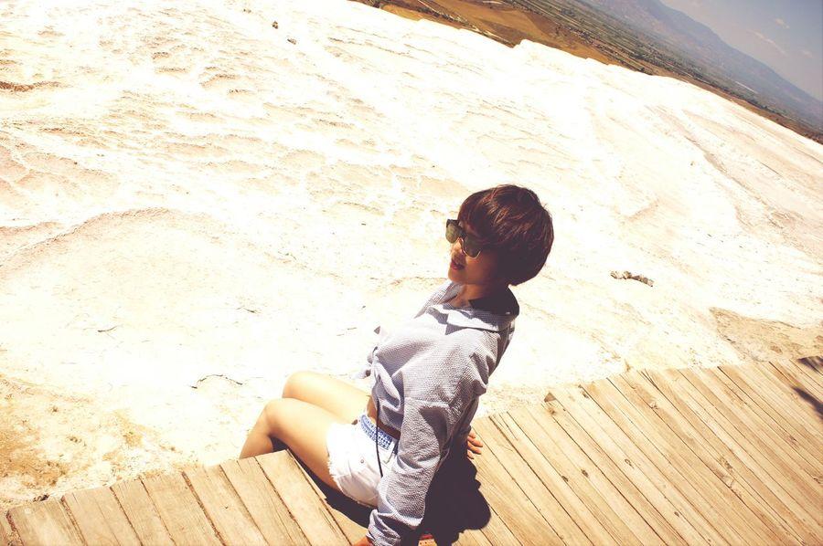 Trippin  Pamukkale Summer 2014 White wonderland