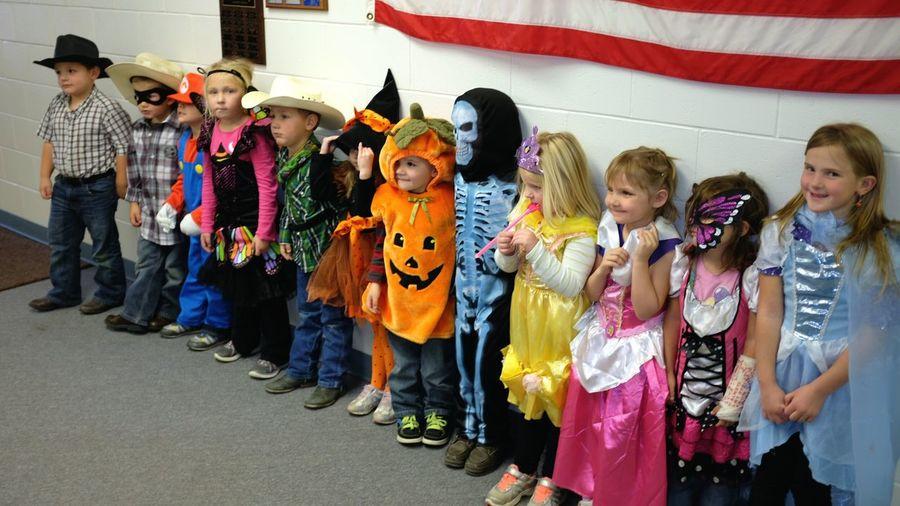 Pre-K parade Cute♡ Kids Being Kids School Halloween Costumes