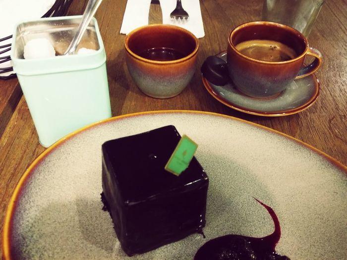 This Pure Dark Chocolate cake is divine!