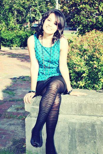 Photoshoot one day. All smiles ~ Follow photojennicc (: Follow Me On Instagram Smile Me Happy