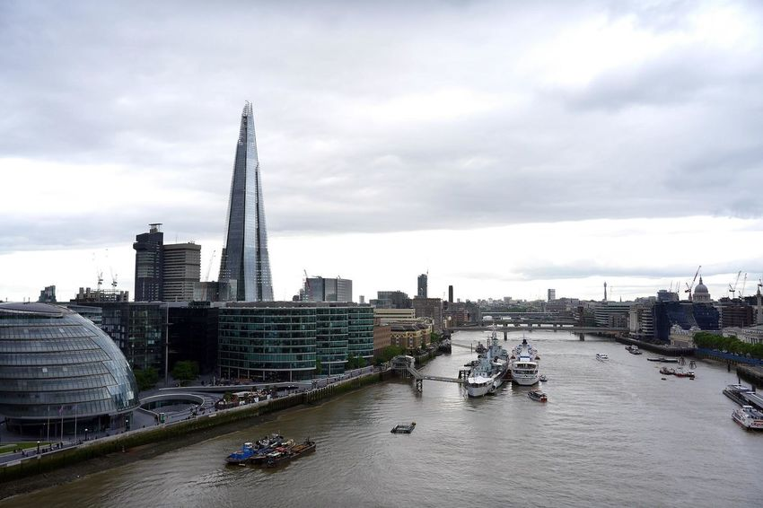 Architecture Boats Building Exterior Built Structure City City Life Cityscape London Outdoors River The River Thames