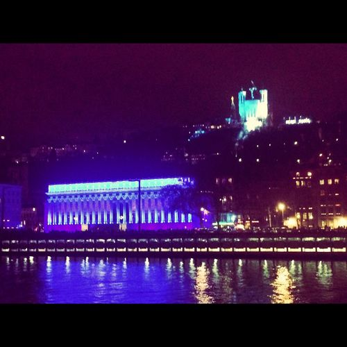 Fete Des Lumieres Lyon Fdl2014 Merci Marie Light Night Lights