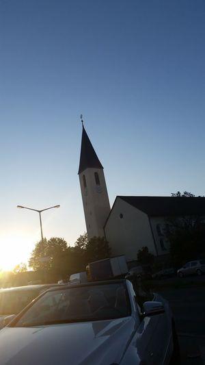 Nürnberg die Kirche in Eibach