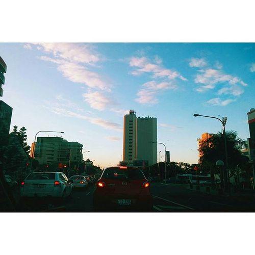 Blinding curtains Cityscape City Brisbanecity Brisbane minimal minimalistic citylife sunset minimalism minimalist