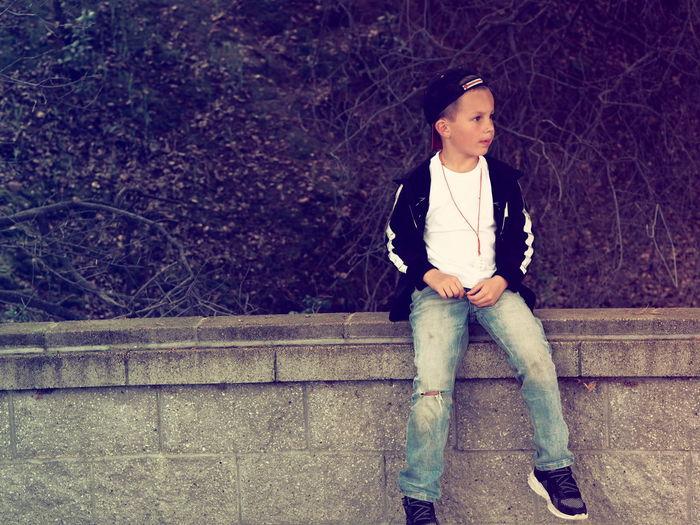 Boy Urban Urbanphotography Portrait Casual Clothing Disappointment Despair