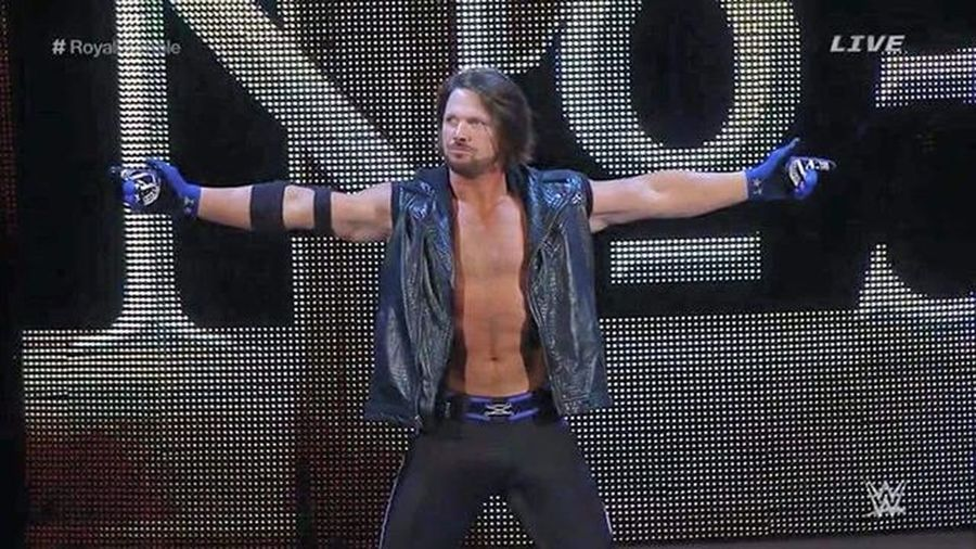 AJStyles Royalrumble Wwe Raw Smackdown Njpw Roh