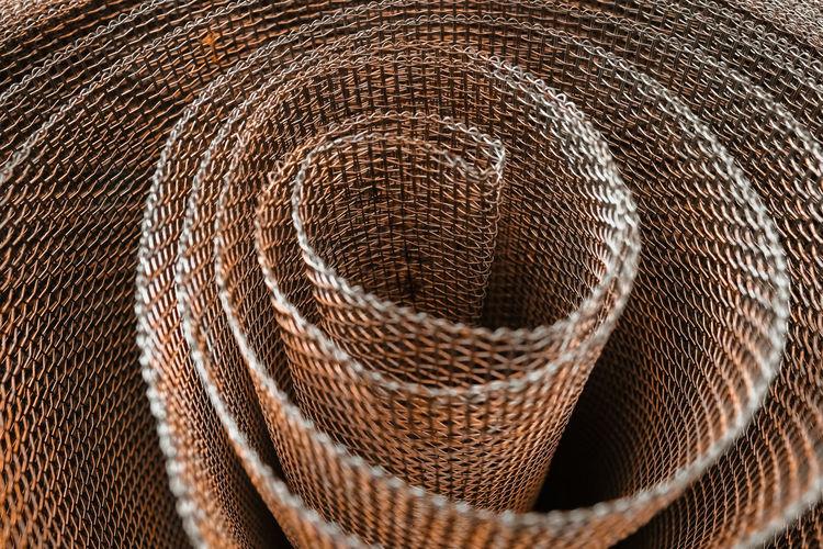 Full frame shot of wire mesh