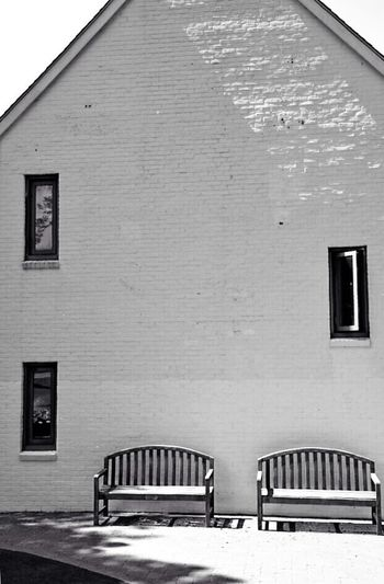 Houses And Windows Blackandwhite Have A Seat Nikon D5200