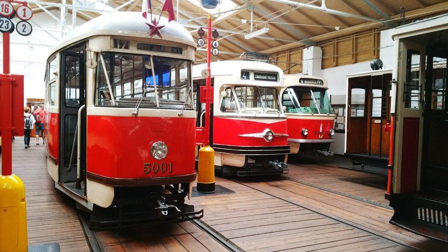 Old tram Public Transportation Prague's Tram Vehicle Photography Museum History