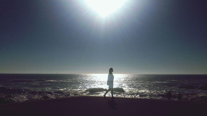 Caminante no hay camino, se hace camino al andar ... Andar por estos caminos se hace mas facil caminar EyeEm Porto Playa Caminar Caminantenohaycamino Beach Beutiful  Beutiful Day Sol Mar