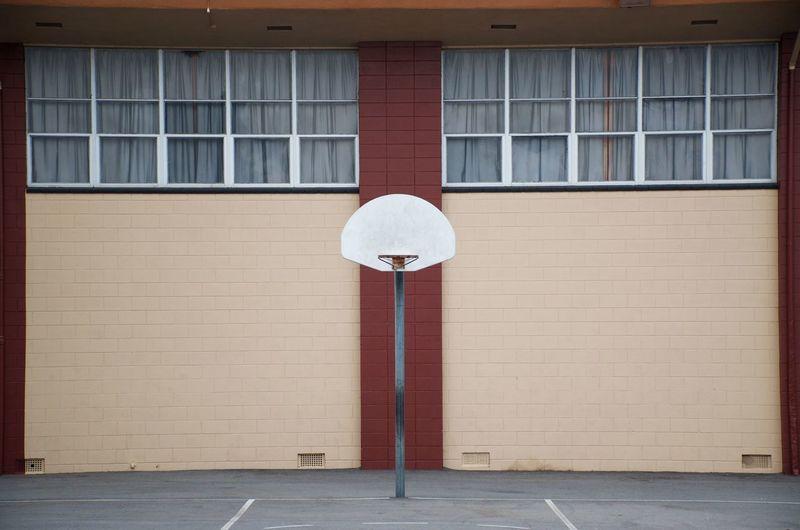 A centered hoop