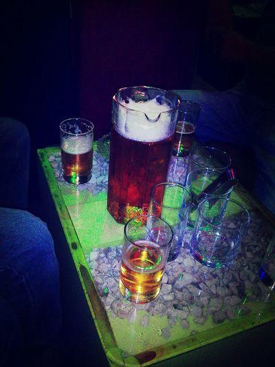 Drinking Beer Farewelling Classmates *-*