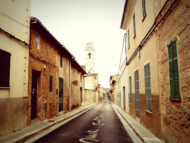 Vanishing Point Tadaa Community Popular Photos Mallorca Street Along The Way