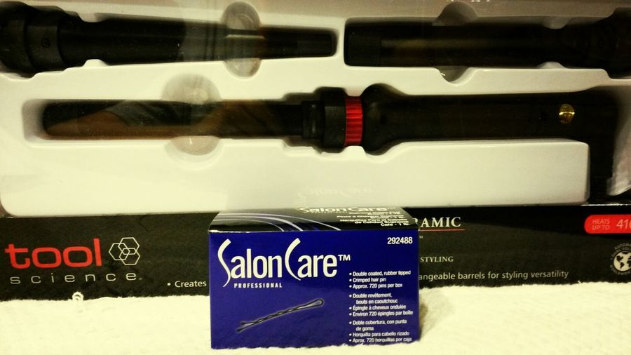 yay! happy camper! Hairstylist Curling Wand Bobbypins