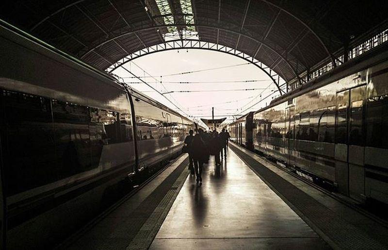 Tren destino Gandia vía 4 València Renfe Adif Estación Estaciondenord Tren Viajero Gandia Destino Vía Byn