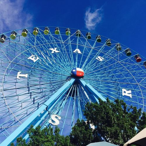 Everything is bigger in Texas. Ferris Wheel Sky Cloud - Sky Outdoors No People Big Wheel State Fair Of Texas Dallas