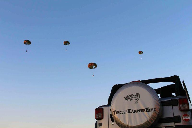 Siofok Parachute Static Lines Jeep Wrangler  Jeep Life Imats MI8 Siofoknights JeepSummer