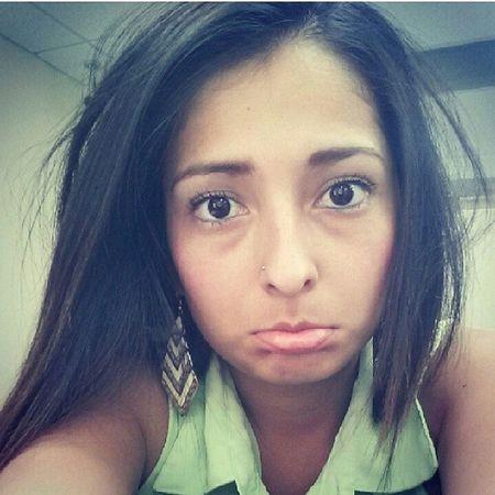 I miss this girl. Come back to me! Lol @saleena_ylosdinos Lookatthatface