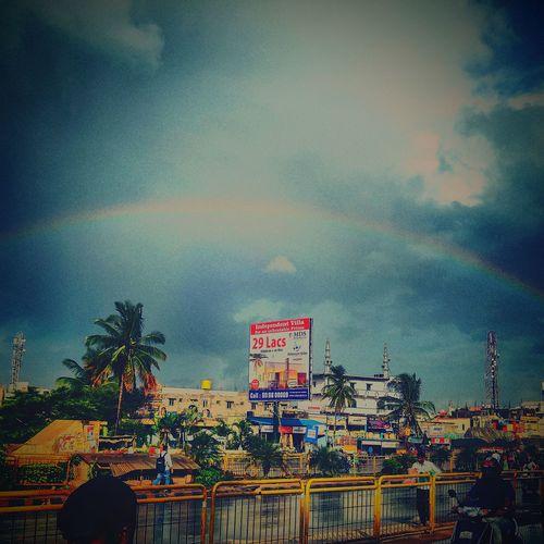 A rainbow edit