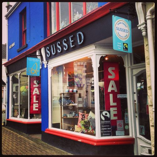 Ethical Fairtrade store in Porthcawl. www.sussedwales.com