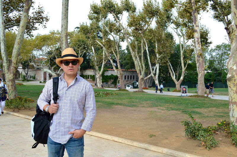 Man Wearing Hat While Standing In Park