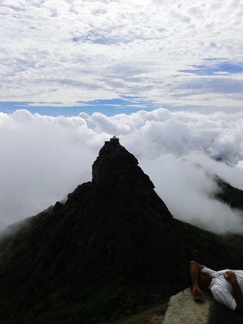 India's Big Mount Girnar Me And My Friend Picnics Taking Photos