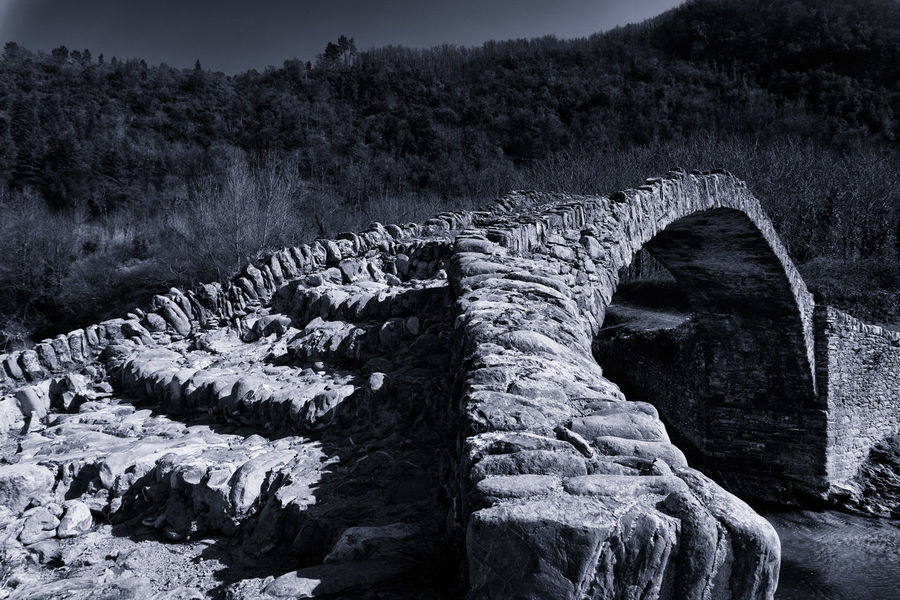 Ancient Architecture Imperia Rock Romans Blackandwhite Bridge Italy Liguria River
