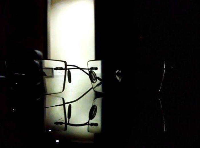 Spectacles Reflection Nightoutdiaries😎 4am Xiaomimi4