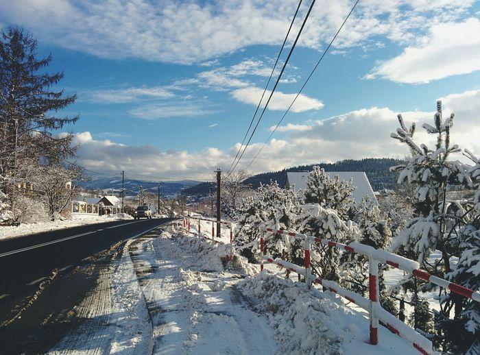 Winter Sky Winter Sun