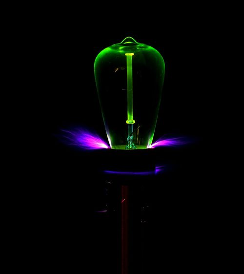 Tesla Coil Arcs Sparks Electric Electricity