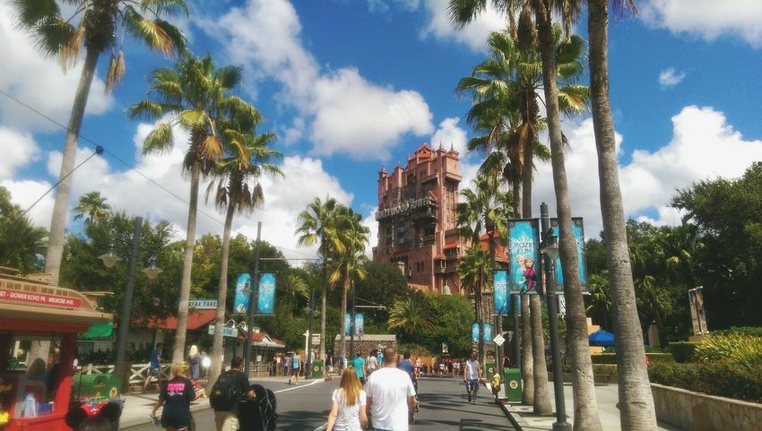 Hollywood Studios Travel Destinations Outdoors Travel Built Structure USA Florida Sky WDW Disney World Hollywood Studios Tower Of Terror