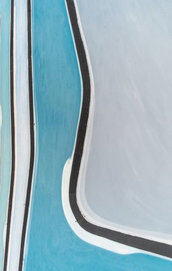 Abstract Utah USA Water No People Day Curve High Angle View Nature Pattern Outdoors Backgrounds Blue Aerial View