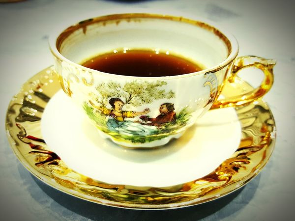 Turkish Coffee Evening Tastessogood Home Chilling Out Friends Old Cups Golden