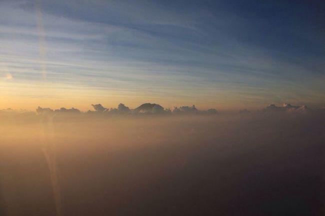 Langit dari timur East Sky Sunse INDONESIA