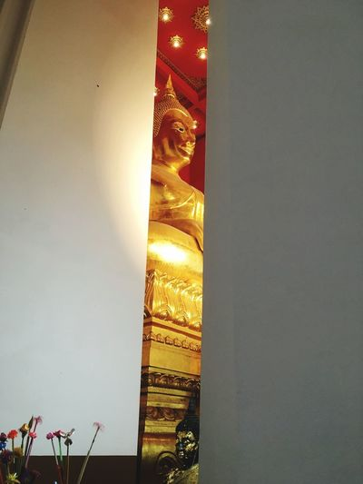 Buddhism Architecture Built Structure Illuminated Nature No People Low Angle View