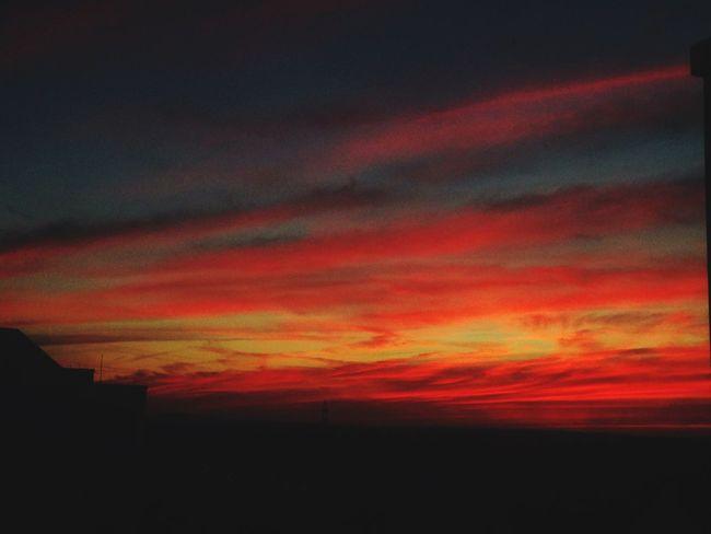 Sun_collection, Sky_collection, Cloudporn, Skyporn Cloudporn #skyporn #beautiful #bestskysever Eyem Beutiful Sky  RedClouds