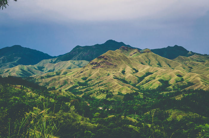 The grass is greener on the other side Beauty In Nature Day Fiji Green Landscape Mountain Mountain Range Nature Nausori Highlands No People Outdoors Scenics Sky Tranquil Scene Tranquility The Great Outdoors - 2017 EyeEm Awards