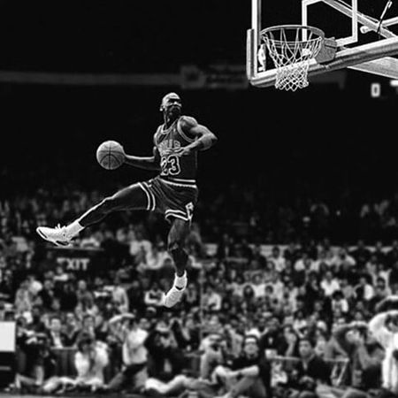 Michael Jordan Michaeljordan Jordan Bulls Basket NBA NBAAllstar Blackandwhite Black And White Black & White