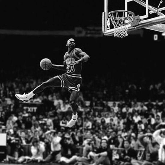 Michael Jordan Michaeljordan Jordan Bulls Basket NBA NBAAllstar Blackandwhite Black And White Black & White
