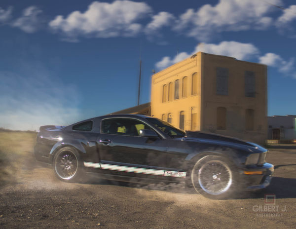 Showcase: January 1st attempt at a car shoot. Car Mustang GT Mustang Shelby Shelbymustang Gilbert J. Photography Drift Composite