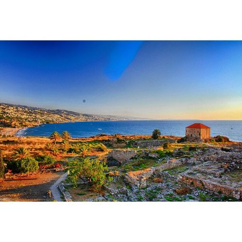 That View from Byblos fortress! LiveLoveLebanon