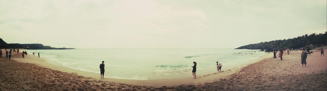 海 Taking Photos