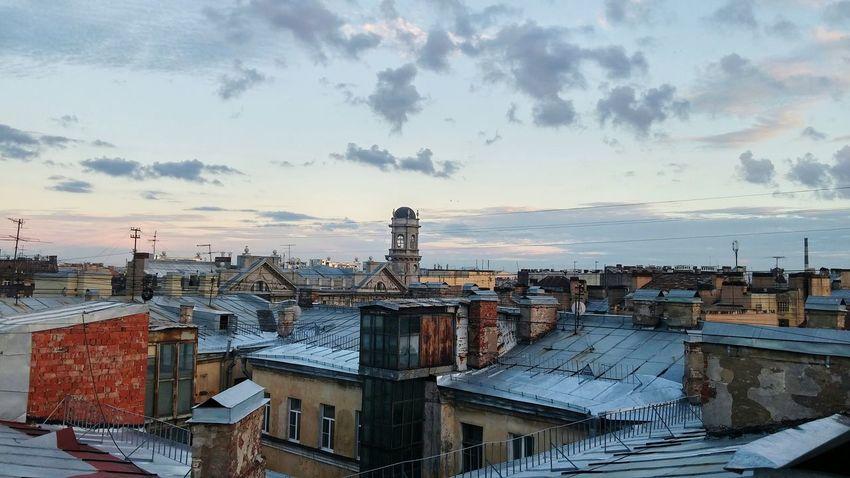 Saint-Petersburg Rooftop View  летние деньки день5