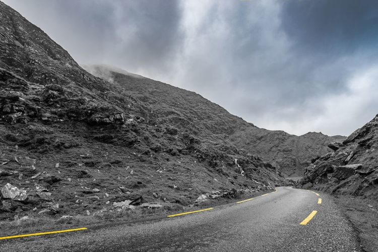 Mountain pass,
